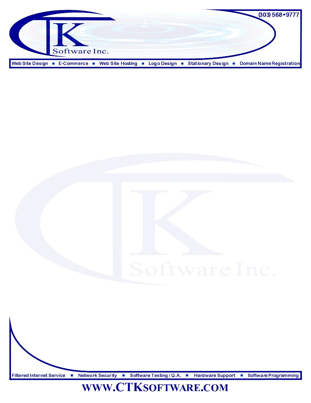 example letterhead template